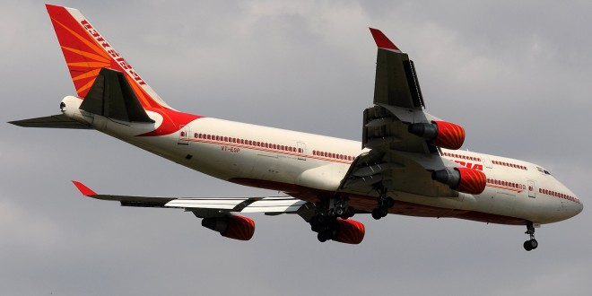Air India Boeing 747-400 VT-ESP Ajanta. Image copyright Devesh Agarwal.