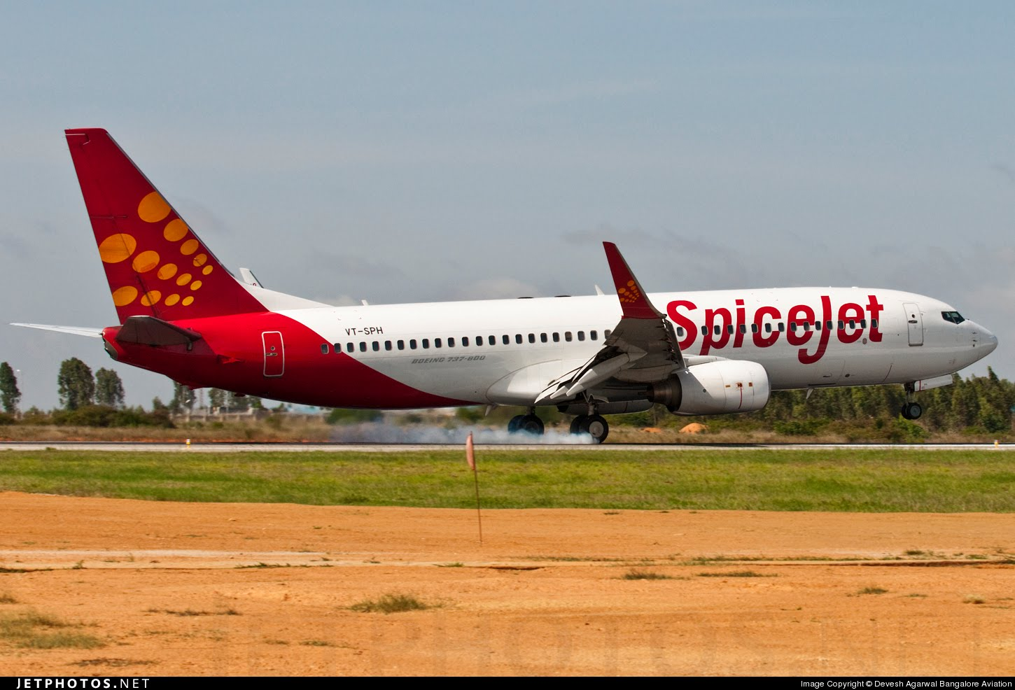 FIle Photo of a Spicejet Boeing 737.