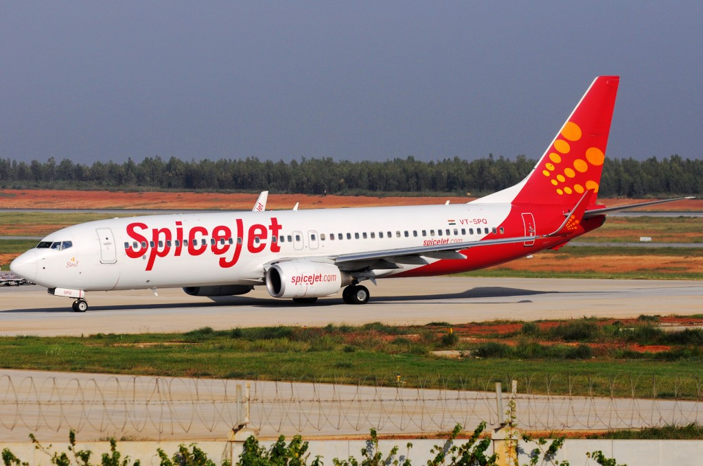 A file photo of a Spicejet Boeing 737-800.