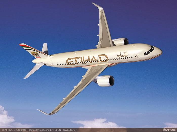 Etihad A320 NEO