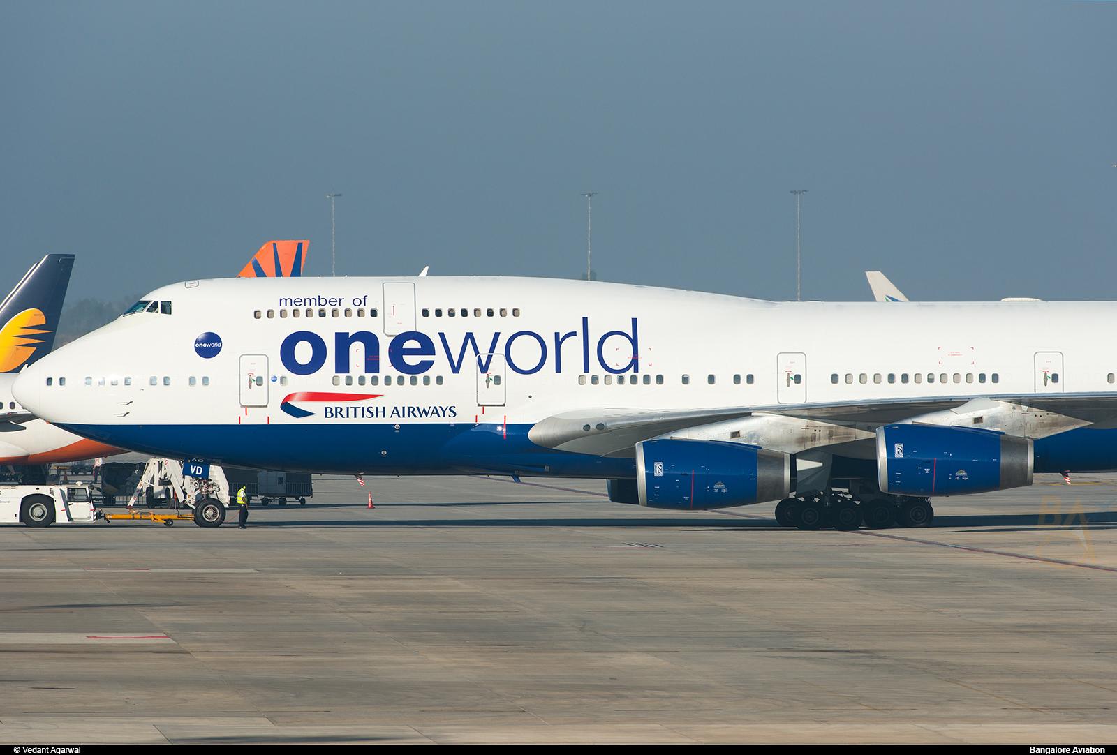 Plane Spotting British Airways Oneworld Livery Air Costa