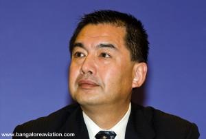 Japan Airlines Chairman Masaru Onishi