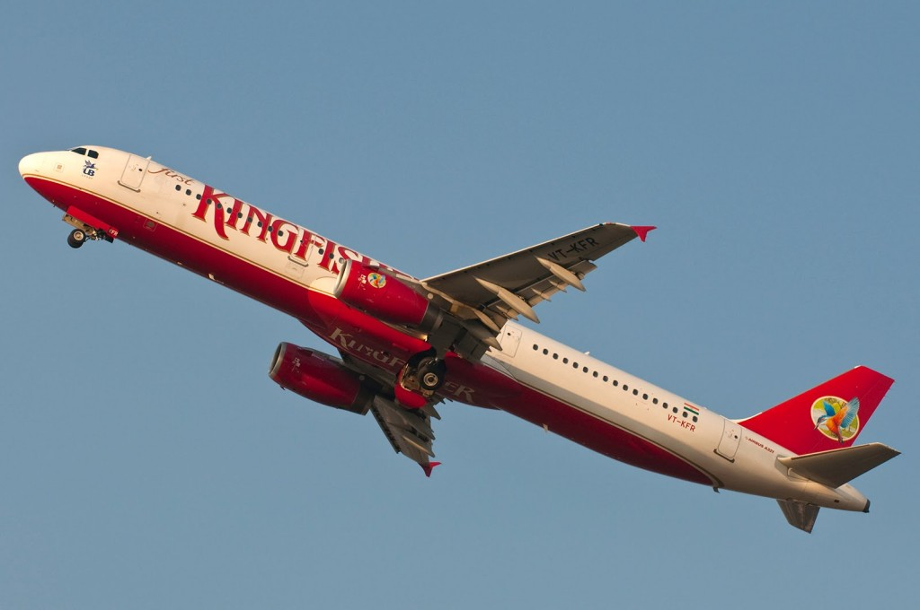 Kingfisher Airlines Airbus A321 VT-KFR.