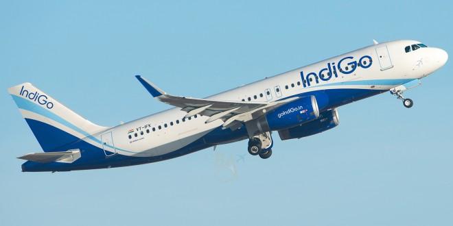 IndiGo Airbus A320-232(SL) VT-IFK with Sharklets.