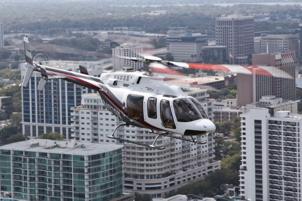 Bell 407HX helicopter. Photo courtesy Bell Helicopter.