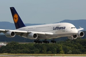 Lufthansa A380 D-AIMA. Photo by Lasse Fuss used under CC license.