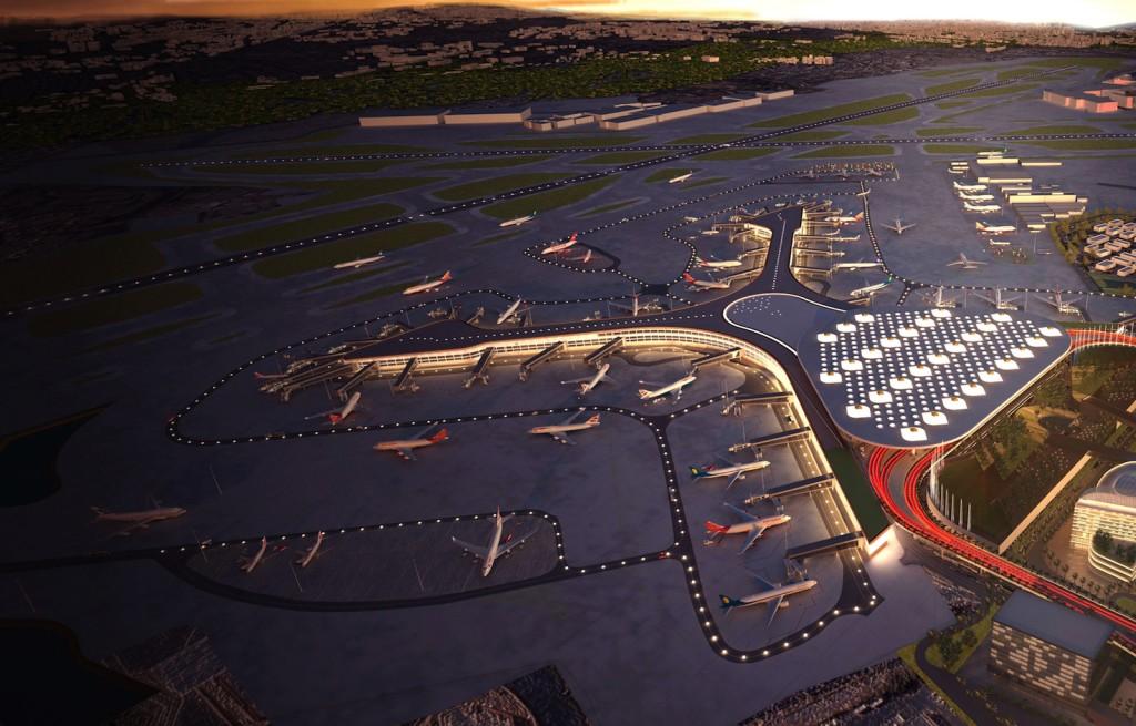 Mumbai airport Terminal 2. Image courtesy MIAL.