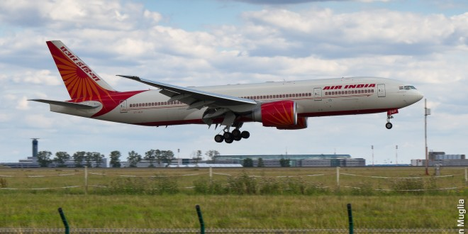 Exclusive photos: Air India strips its newest Boeing 777-200LR