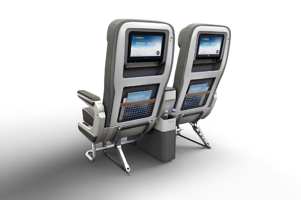 Lufthansa Premium Economy Premium Economy Double Seat rear view