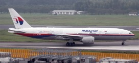 Malaysia Airlines Boeing 777-200ER crashes into the sea off Vietnam