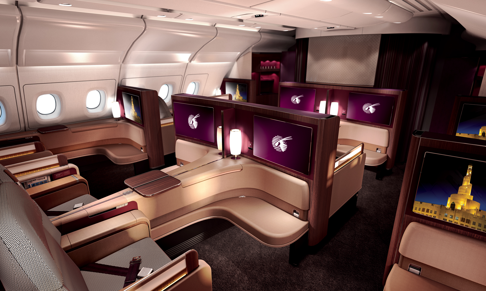 Video Qatar Airways Unveils Its A380 First Class Seat