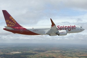 CGI of SpiceJet Boeing 737 MAX 8