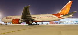 VT-ALA Air India Boeing 777-200LR at Delhi Airport.