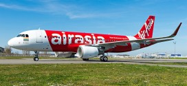 AirAsia India first Airbus A320 with Sharklets VT-ATF