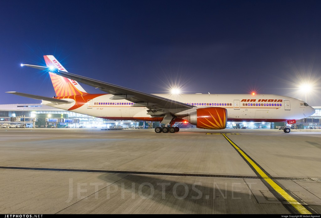 Air India New Delhi to San Francisco is now the world\'s ...