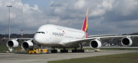 Asiana Airlines first Airbus A380 HL7625. Photo copyright Airbus S.A.S.