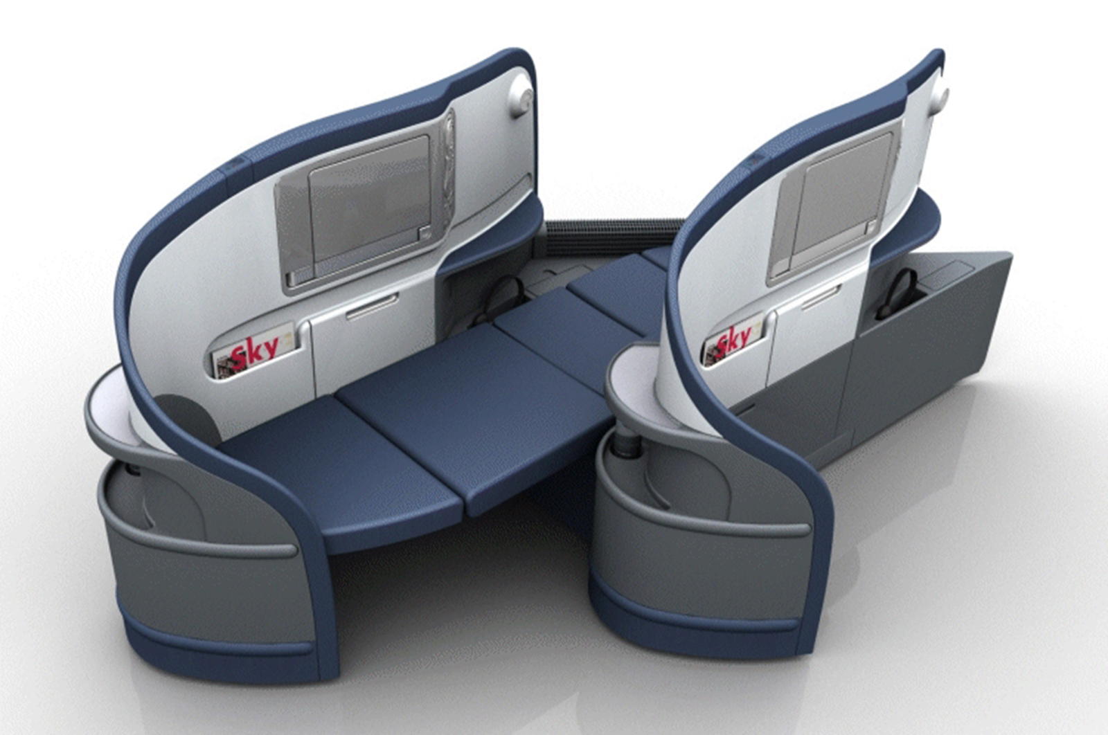 Delta Completes Full Flat Bed Seats Installation On All
