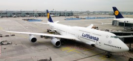 Lufthansa Boeing 747-8i D-ABYH at Frankfurt airport