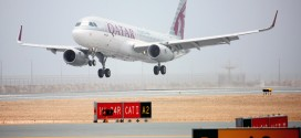 Qatar Airways A320 Sharklet A7-AHX First Flight to arrive at Hamad Intl Airport at QR7450. NDIA.