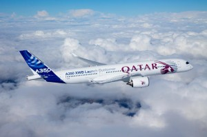 Airbus A350 XWB is special Qatar Airways Launch Customer livery