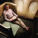 Singapore Airlines next generation first class seat. Image courtesy the airline.