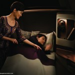 Singapore Airlines next generation business class full flat seat. Image courtesy the airline.