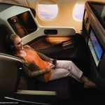 Singapore Airlines next generation business class ultra-wide 30 inch seat. Image courtesy the airline.