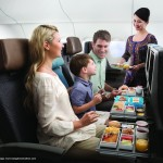 Singapore Airlines next generation economy class seat. Image courtesy the airline.