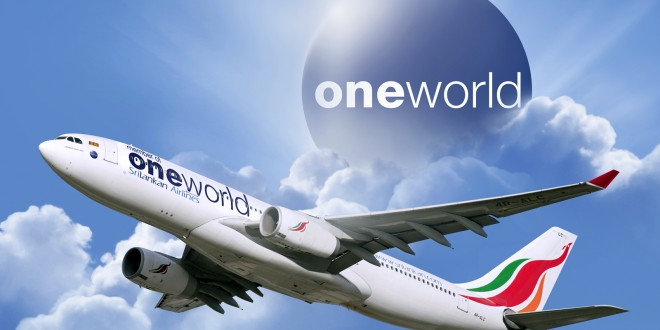 SriLankan A330 in oneworld livery