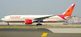 Air India Boeing 777-200LR VT-ALE at New Delhi Indira Gandhi airport. Image copyright Vedant Agarwal