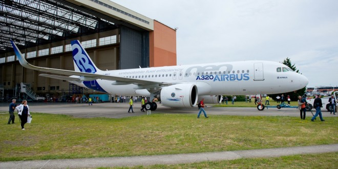 Airbus crosses 3,000 firm orders on A320neo