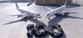 Etihad takes delivery of it's 100th and 101st aircraft