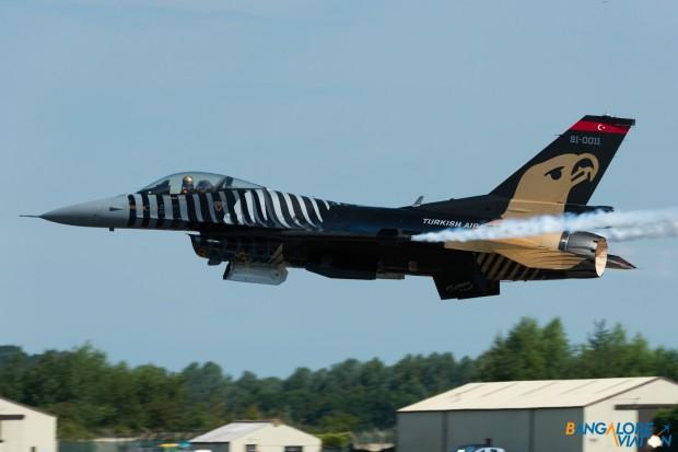 Turkish Air Force Lockheed Martin F-16C Block 40 91-0011.