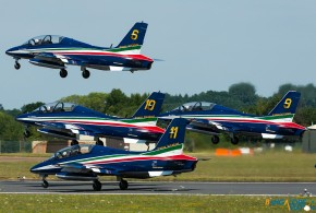 Through the lens: The Frecce Tricolori