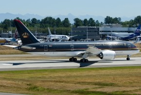 Through the lens: Royal Jordanian Airline's first Boeing 787 Dreamliner