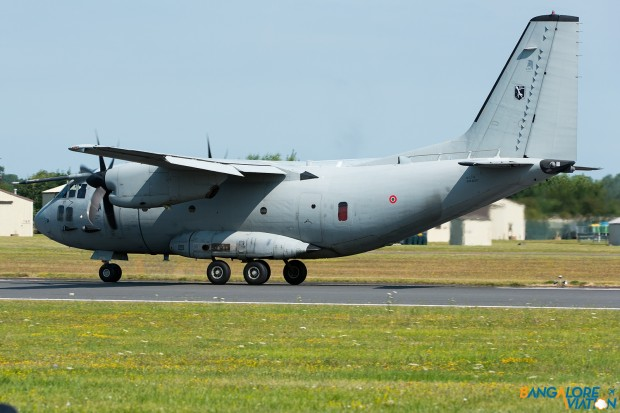 Alenia C-27J Spartan MM62217. Taking off at the beginning of it's display.