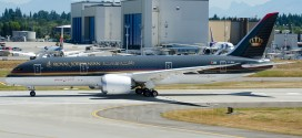 Boeing delivers Royal Jordanian's first 787-8 Dreamliner