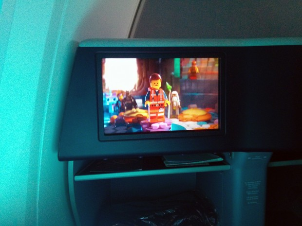 Nice, vibrant screen which is really nice to watch a movie on. (Yes, it's the Lego movie - I'm a little bit of a geek).