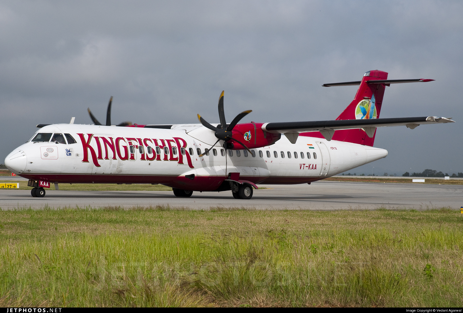 Air Pegasus Takes Delivery Of Its First Plane Former Kingfisher Airlines ATR72