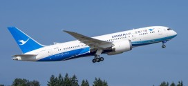 Xiamen Airlines' first Boeing 787-8 Dreamliner