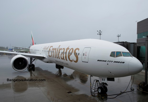 Emirates' 100th Boeing 777-300ER A6-ENV.