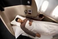 Qantas A380 first class suite. Qantas image.