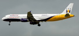 Monarch Airlines Airbus A321 G-OZBP.