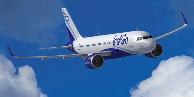 CGI of IndiGo A320neo with PW Pure Power 1100GTF engines. Airbus image.