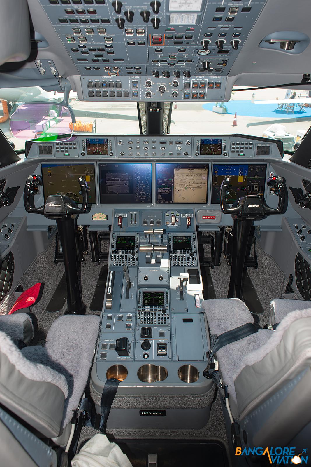 Through the lens Onboard the UberLuxurious Gulfstream G650