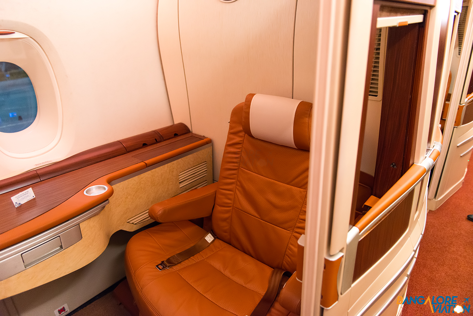 In flight review singapore airlines business class for First class suite airline
