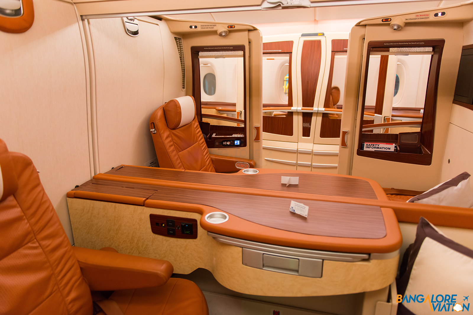 Singapore Airlines First And Business Class Meals Bangalore Aviation