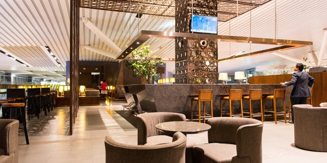 Domestic Plaza Lounge - Bangalore Airport.