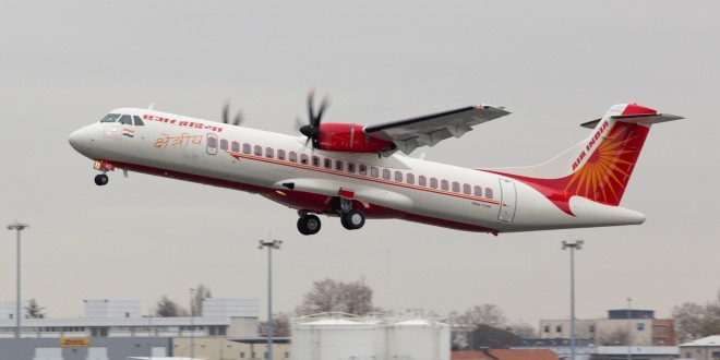 Air India Regional Alliance Air first ATR72-600 VT-AII. ATR image.