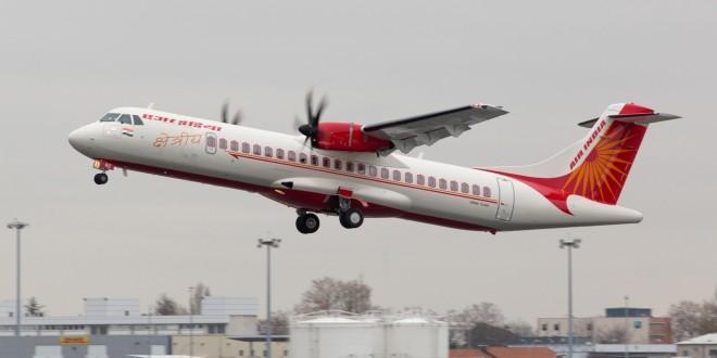 Air India Regional Alliance Air first ATR72-600 VT-AII. ATR image.